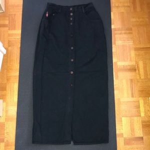 🌟Vintage🌟 high waisted long skirt size small